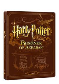 Harry Potter a vězeň z Azkabanu (Blu-ray+DVD bonus) - steelbook