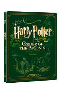 Harry Potter a Fénixův řád (Blu-ray+DVD bonus) - steelbook