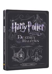 Harry Potter a Relikvie smrti - část 1. (Blu-ray+DVD bonus) - steelbook