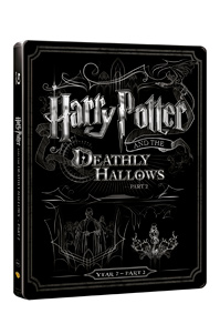 Harry Potter a Relikvie smrti - část 2. (Blu-ray+DVD bonus) - steelbook