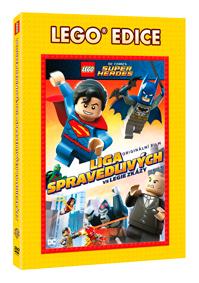 Lego: Liga spravedlivých vs Legie zkázy - Edice Lego filmy DVD