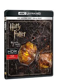 Harry Potter a Relikvie smrti - část 1. 2Blu-ray (UHD+Blu-ray)