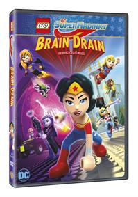 Lego DC Superhrdinky: Brain Drain DVD