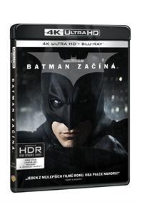 Batman začíná 3Blu-ray (UHD+Blu-ray+bonus disk)