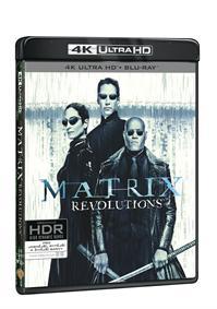 Matrix Revolutions 3Blu-ray (UHD+Blu-ray+bonus disk)