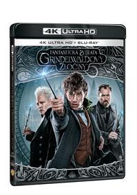 Fantastická zvířata: Grindelwaldovy zločiny 2Blu-ray (UHD+Blu-ray)