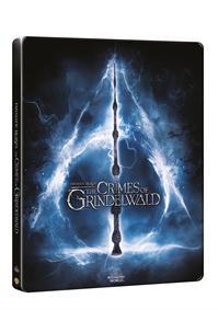 Fantastická zvířata: Grindelwaldovy zločiny 2Blu-ray (3D+2D) - steelbook