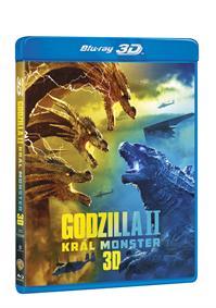 Godzilla II Král monster 2Blu-ray (3D+2D)