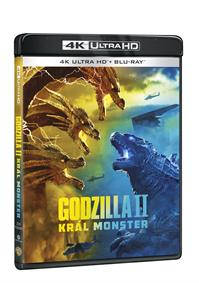 Godzilla II Král monster 2Blu-ray (UHD+Blu-ray)