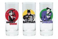 Sklenice DC Comics set 3 ks