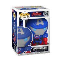 Funko POP! Marvel: Marvel Mech - Cap. America