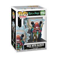 Funko POP! Animation: Rick & Morty - Rick w/ Glorzo